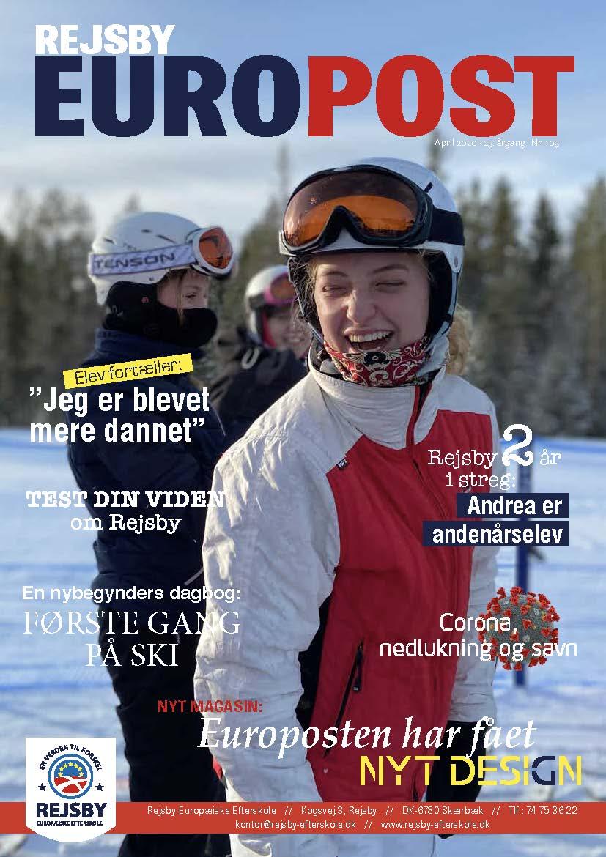 Nyt design: Europosten, april-udgave er udkommet
